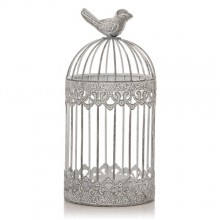 Shabby Chic Birdcage Tealight Holder