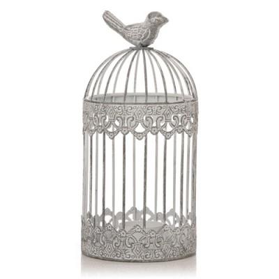 Shabby Chic Birdcage Tealight Holder
