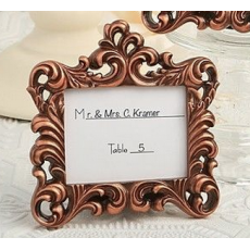 Copper Baroque Frame - Place Card Holder or Table Number