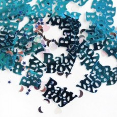 Baby Shower Confetti 'Baby Boy' (Blue)