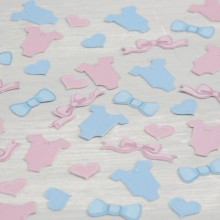 Baby Shower Confetti - Boy & Girl