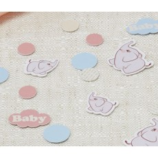 Baby Shower Confetti - Baby Elephant