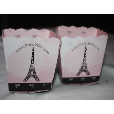 Paris, Ooh La La - Paris Themed Party Candy Boxes x2