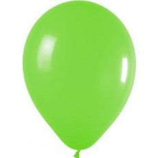 Balloons latex green x10
