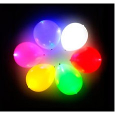 LED Balloons (mixed) x5
