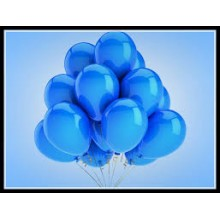 Balloons - Metallic Blue x10