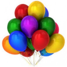 Balloons -Metallic Mixed x5