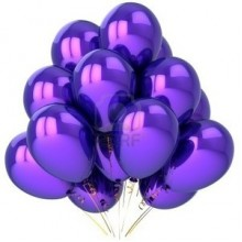 Balloons - Metallic Purple x10