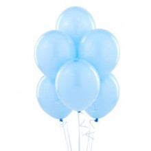Balloons latex sky blue x10