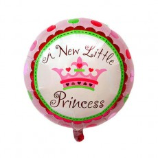 Baby Shower 'A New Little Princess' Helium Balloon (Pink)