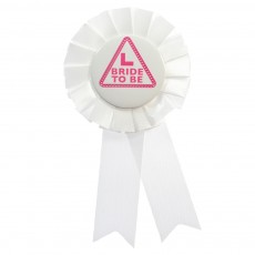 Bride to be Badge / Rosette
