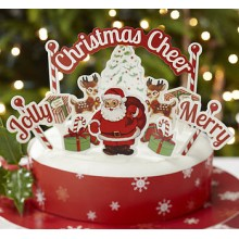 Christmas Cake Decoration Kit