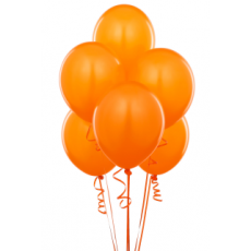 Balloons latex Orange x10