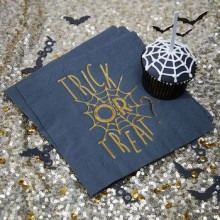 Halloween Trick Or Treat Party Napkins x10