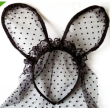 Vintage Lace Bunny Ears