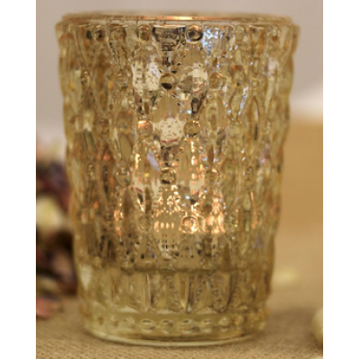 Gold Antique Candle Holder