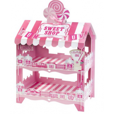 Candy Sweet Shop Stand (2 Tier) - Pink
