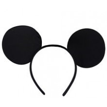 Mickey Mouse Headband Ears - black