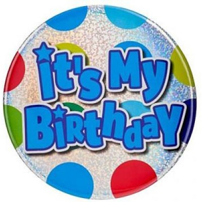 Its My Birthday Badge