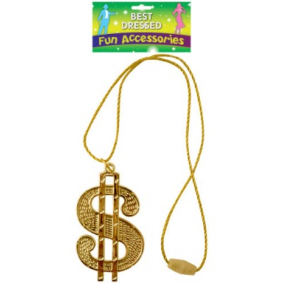 Pimp Dollar Gold Chain
