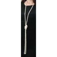 Flapper 1920s Pearl Beads Necklace
