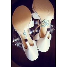 'I DO' Shoe Stickers