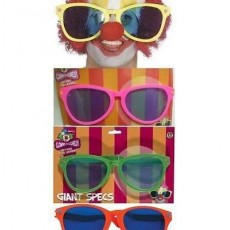 Giant Colourful Glasses (Twin Pack)