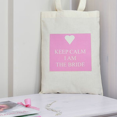 Keep Calm I'm the Bride Bag