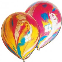 Balloons - Marble x 6