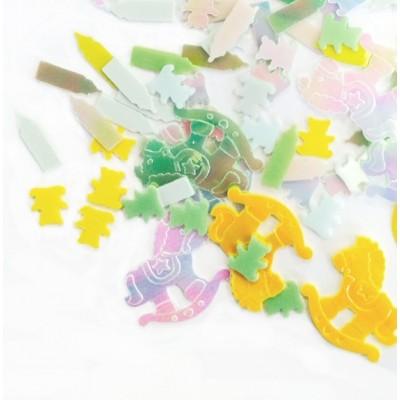 Baby Shower Confetti (Multicoloured)