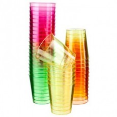 Neon Shot Glasses x10