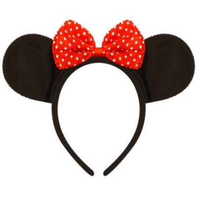 Mickey Mouse Headband Ears - Red