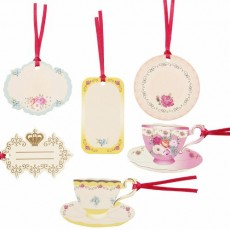 Pretty Scrumptious gift tags x6
