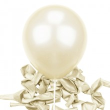 Balloons latex white x10