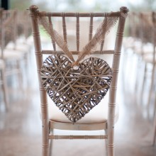 Grey Willow Hanging Hearts
